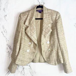 Ralph Lauren Purple Label Silk Blazer Jacket i1